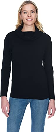 State Cashmere Women's Cowl Neck Top Sweater 100% Pure