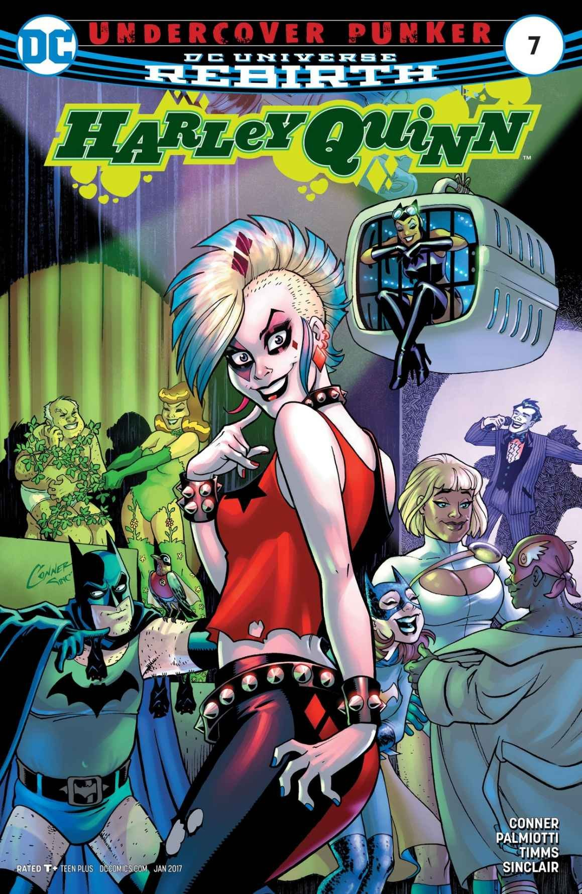 DC Comics Rebirth HARLEY QUINN #7 first printing cover A