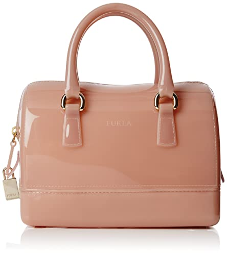 Furla Women s Candy Cookie S Satchel Bowling Bag Pink (Moonstone ... 0a7ce1ce51398