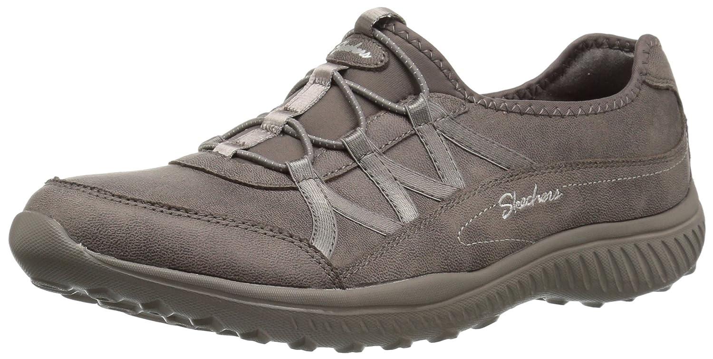 Skechers Women's Be-Light-Well-to-Do Sneaker B078YTG3SQ 11 B(M) US Dark Taupe