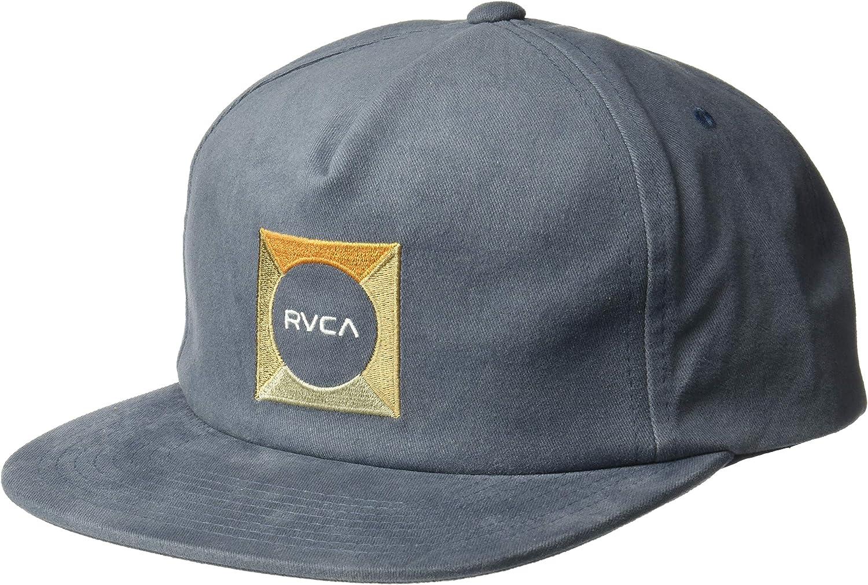 RVCA Mens Cut Out Snapback Hat