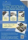 Frisk Tracedown - Papel de calco gráfico (A4, 5 unidades), color gris grafito