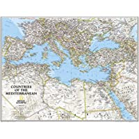 Countries of the Mediterranean Classic: Wall Maps - Countries & Regions