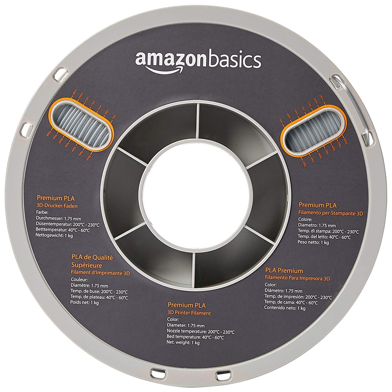 Amazon.com: AmazonBasics Premium PLA Filamento para ...