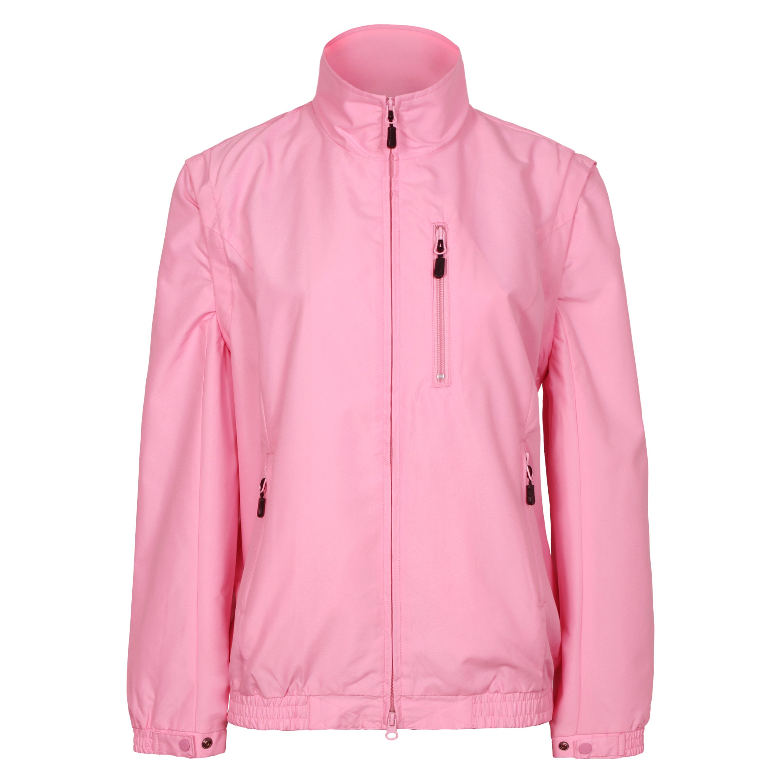 Tres Bien Golf Women's 2 in 1 Convertible Jacket / Vest (X-Large, Pink) by Tres Bien Golf