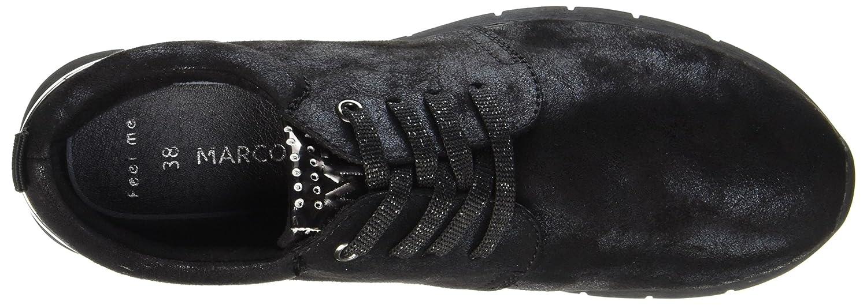 MARCO TOZZI Damen 23700 (schwarz Sneaker Schwarz (schwarz 23700 Met.comb) e24abc