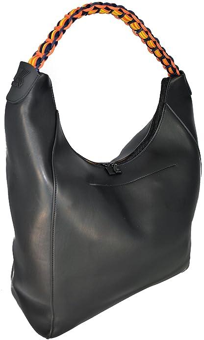 464520a1e2f5 K-Way Borsa Spalla Nera Bag Woman Black K-Twist Hobo  Amazon.it  Scarpe e  borse