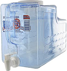 Arrow Home Products Beverage Dispenser, 3-Gallon, Clear