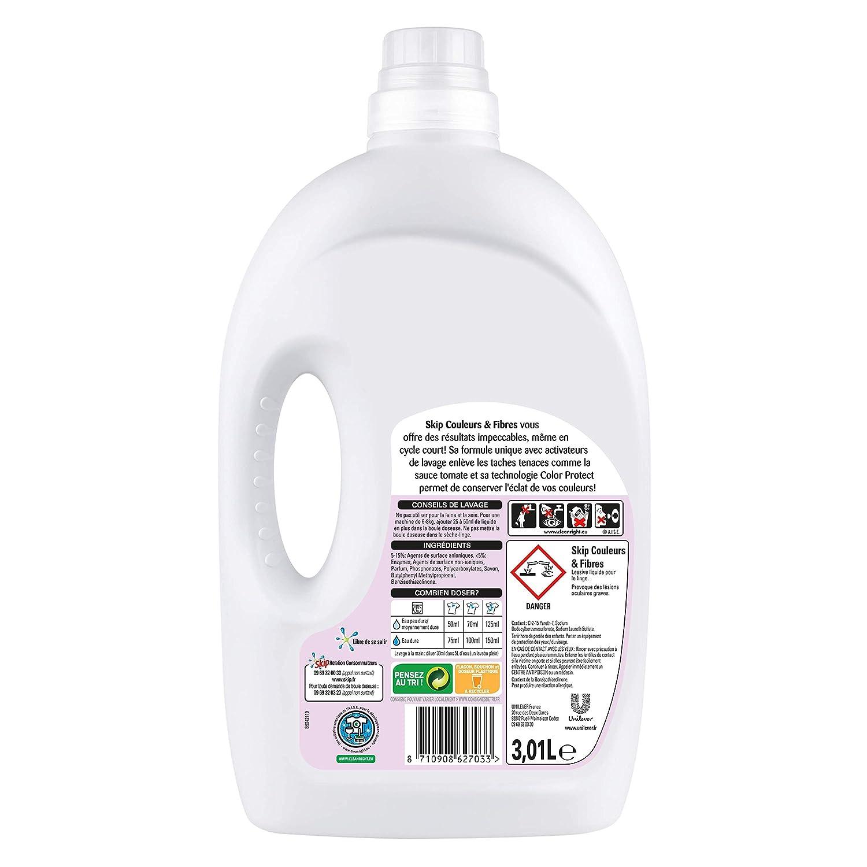 Detergente líquido SKIP, Color Clean 37: Amazon.es: Salud y ...
