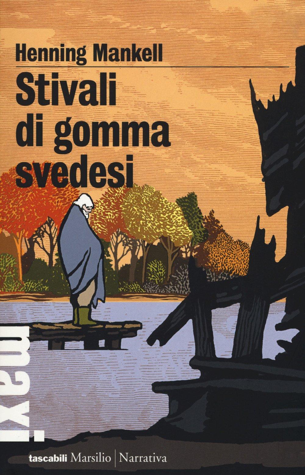 Amazon.it: Stivali di gomma svedesi Mankell, Henning