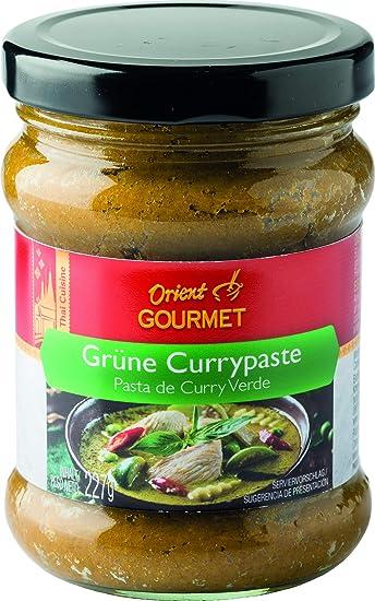 Orient Gourmet, Salsa de curry (Verde) - 12 de 227 gr. (