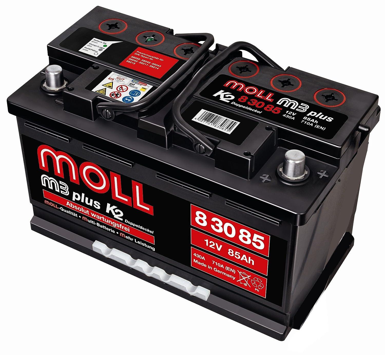 Amazon Fr Moll M3 Plus K2 Double Couvercle 83085 85 Ah 710 A Ka