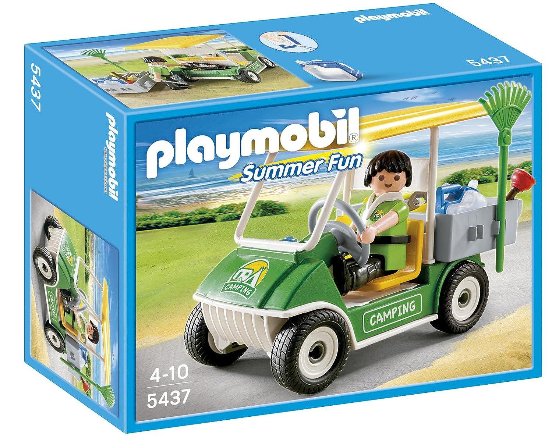Playmobil Vacaciones - Carrito de Camping (5437): Amazon.es: Juguetes y juegos