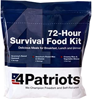 product image for 4Patriots Emergency Food Supply - 72-Hour Survival Kit - Freeze Dried Food - 25-Year Shelf Life - 16 Servings
