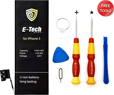 Not 6 New Zero Cycle Li-Ion internal Battery Replacement with Free Professional Tool Kit Battery Replacement Megtech iPhone 6S