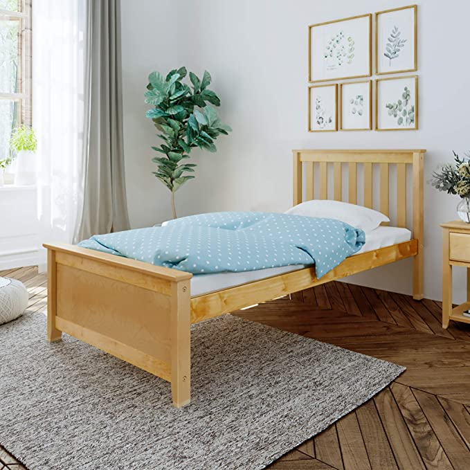 Twin Size Solid Wood Daybed Bed Frame No Mattress Multifunctional Furniture