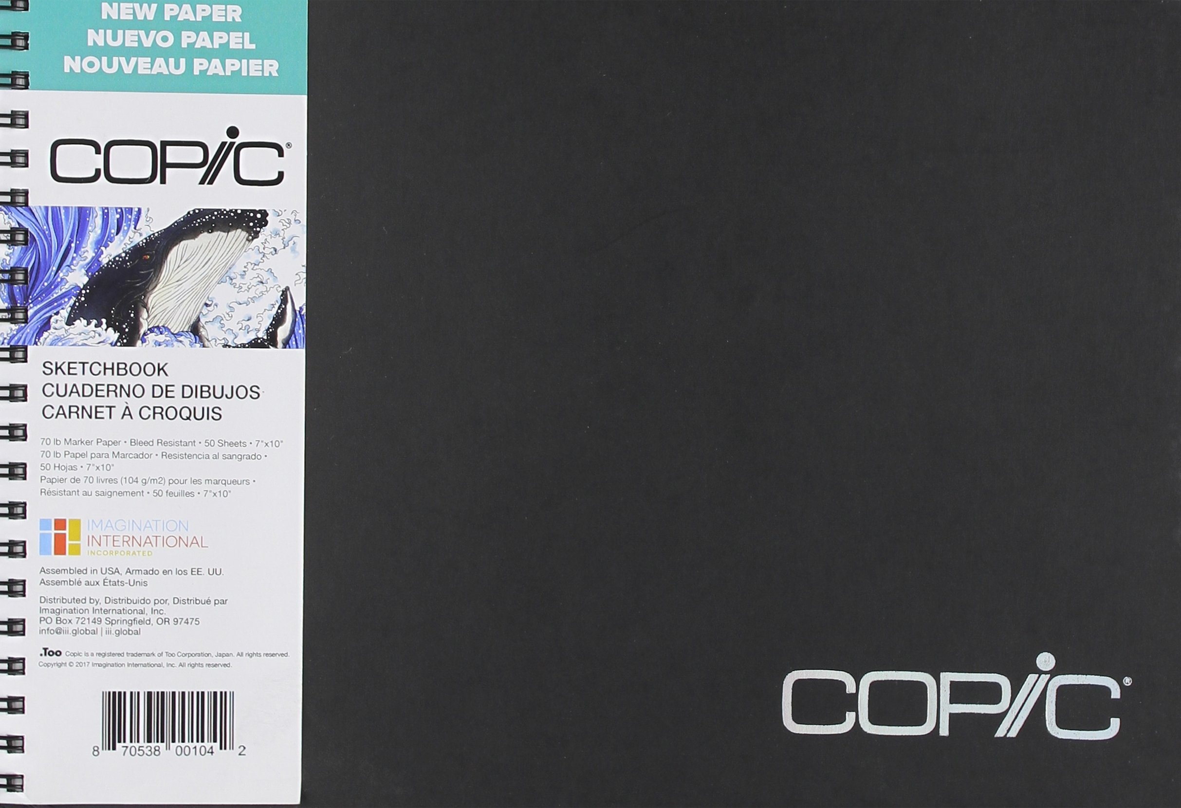 Copic Marker 50 Sheets Copic Sketchbook 7''X10'' by Copic Marker