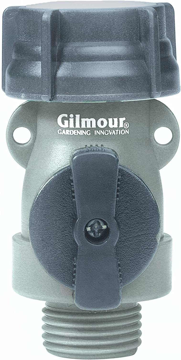 Gilmour 800014-1001 Full Flow Poly Connector AS1FF Teal/Black