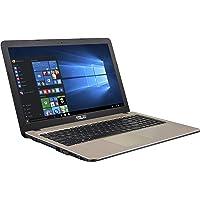 """Asus X540NA-GQ017T Notebook, Display da 15.6"""", Processore Celeron N3350, 1.1 GHz, HDD da 500 GB, 4 GB di RAM, Chocolate Black [Layout Italiano]"""