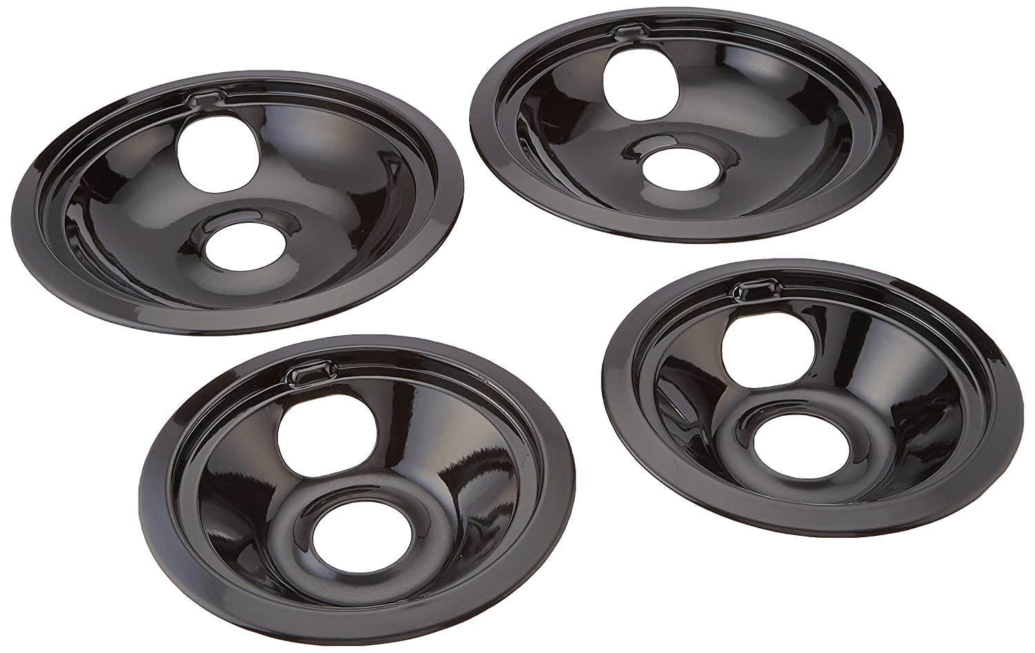 Porcelain drip pans for ge hotpoint electric stoves pc
