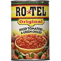 RO-TEL Canned Original, Diced Tomatoes and Green Chilies, 10 Ounce (8 Pack)