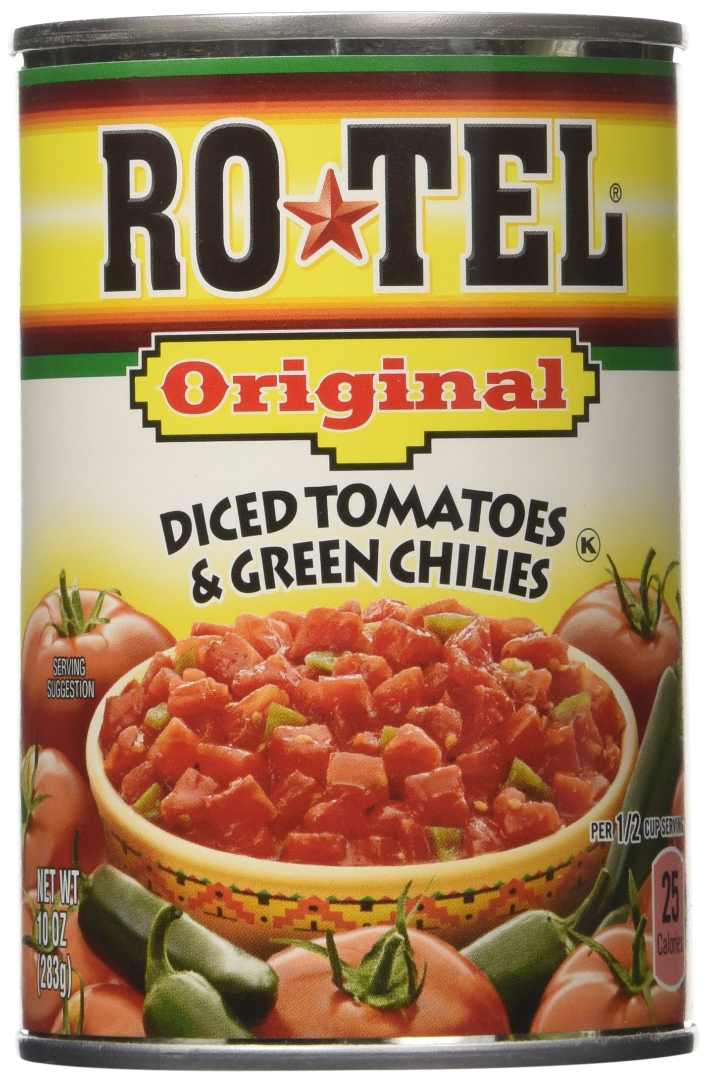 Rotel Diced Tomatoes,80Ounce