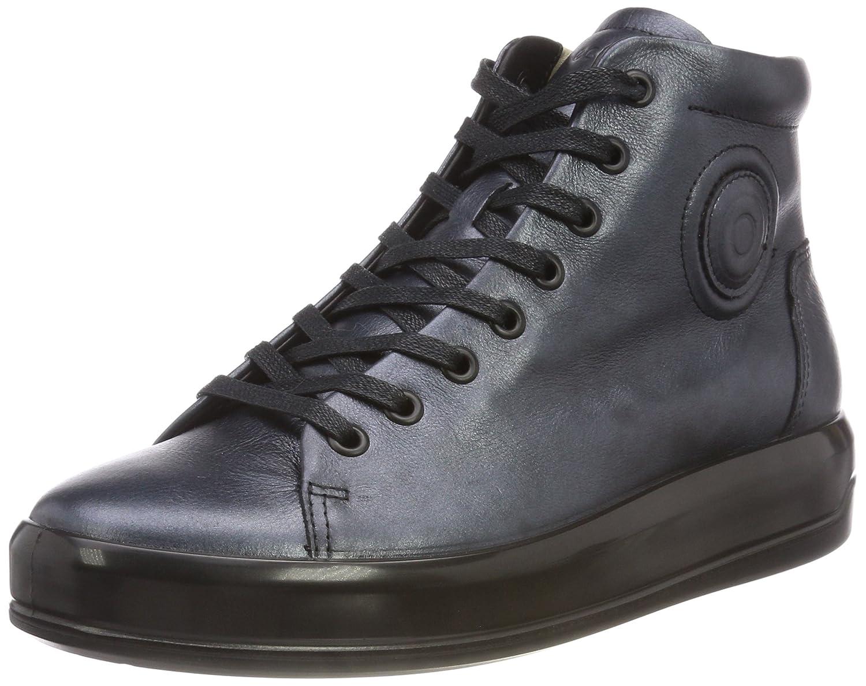 Ecco Soft 9, Zapatillas Altas para Mujer 40 EU|Negro (Black 11001)