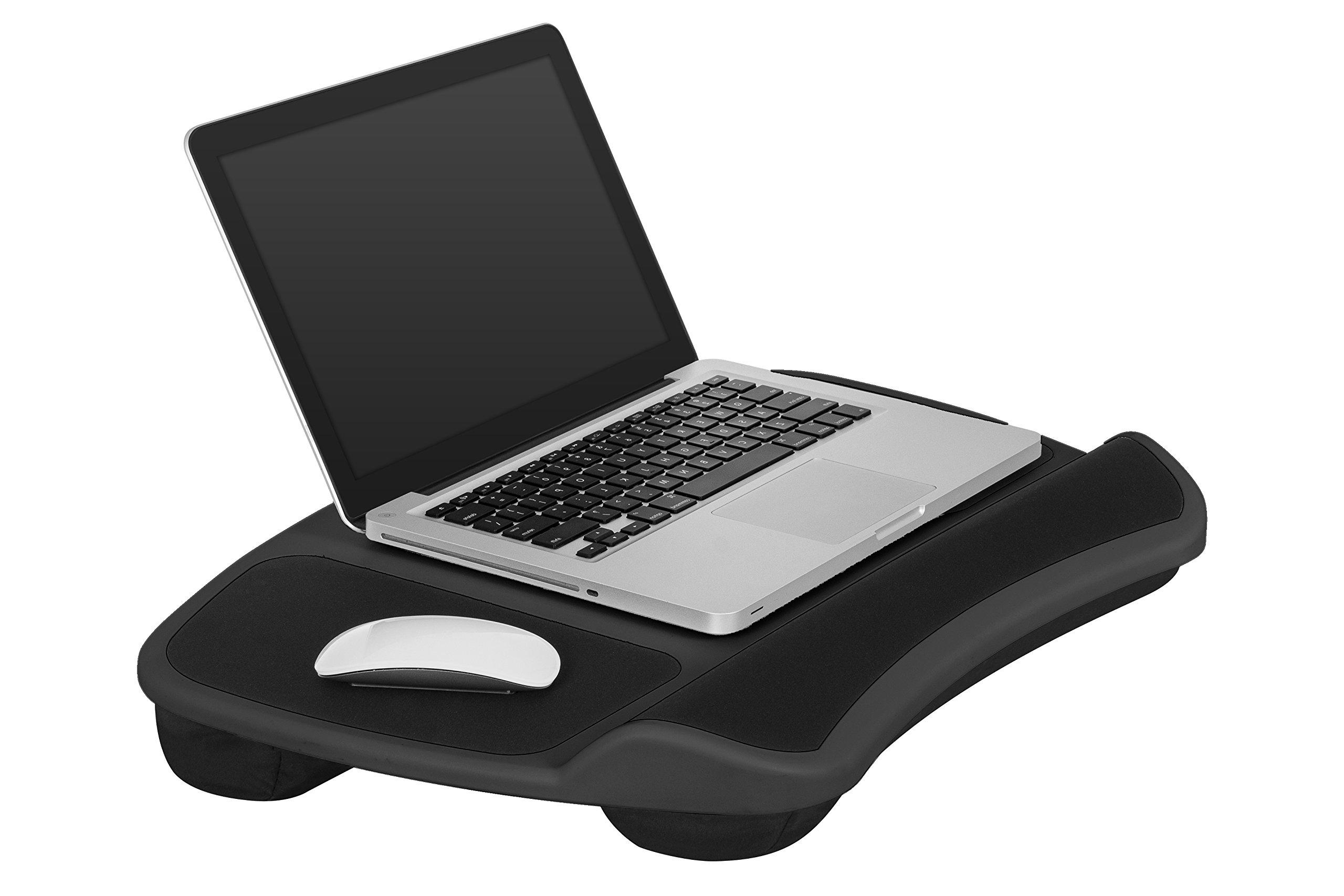 Galleon Lapgear Xl Laptop Lap Desk Black Fits Up To