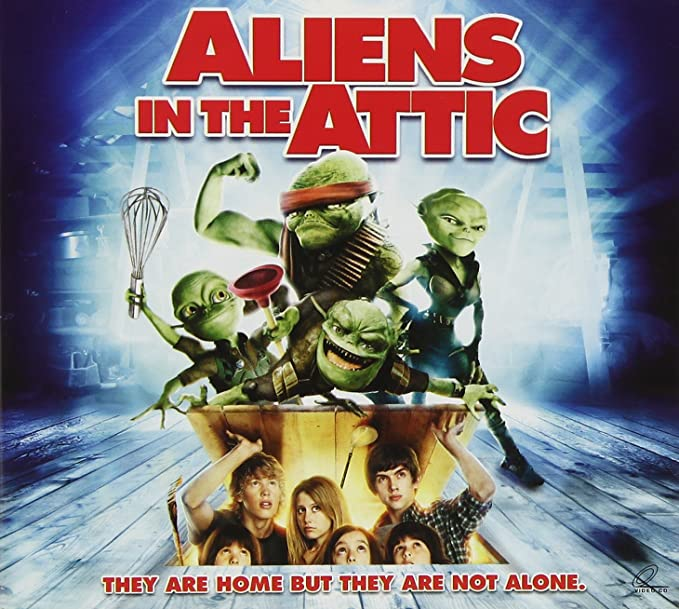 Amazonin Buy Aliens In The Attic Dvd Blu Ray Online At Best