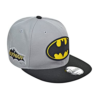 Batman DC Comics New Era 9FIFTY  quot Team Patcher quot  Adjustable Snap  Back Hat 4b148909a5ab