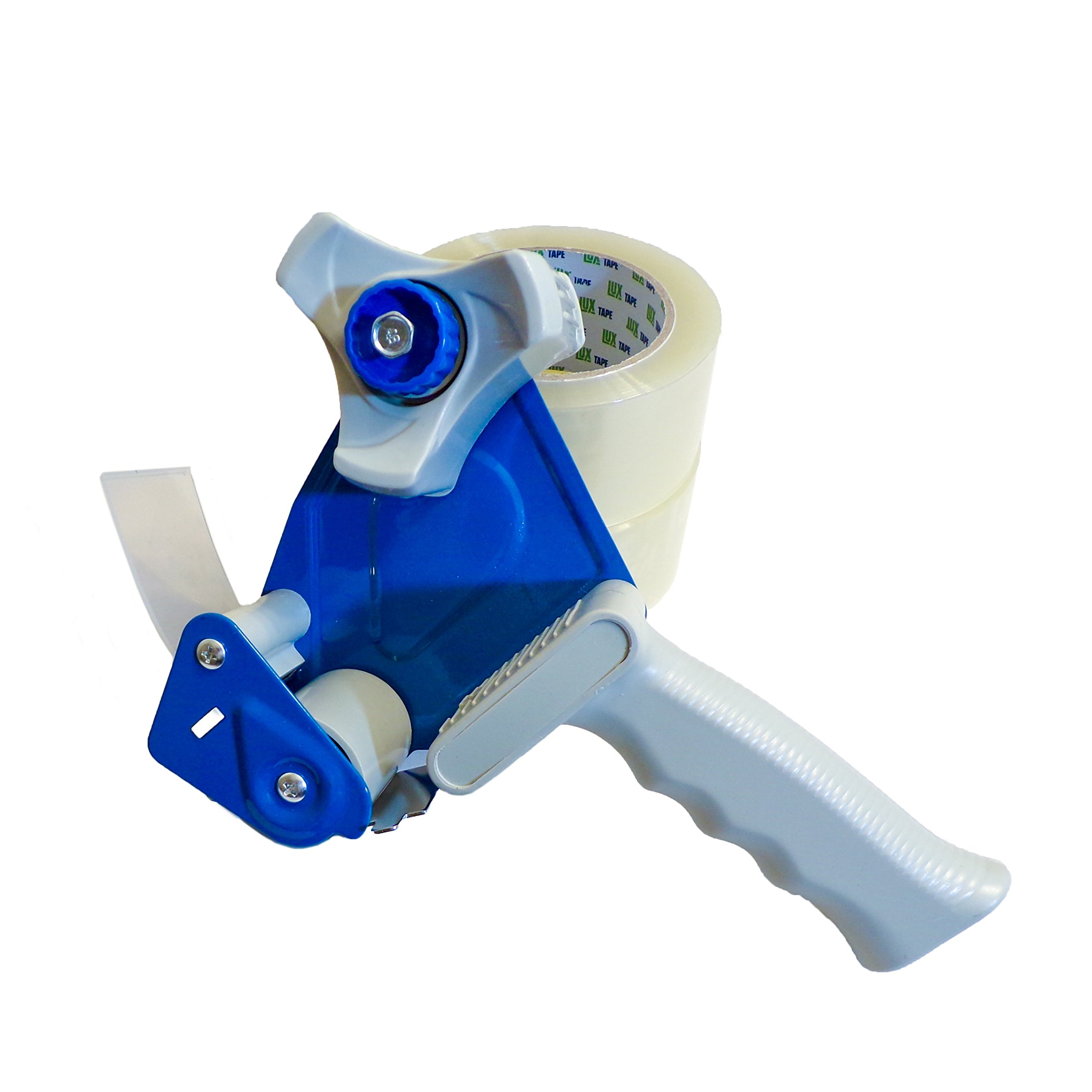 Heavy Duty Packing Box Roll tape dispenser Gun Blue for 2'' Roll Tape, Strong Quality