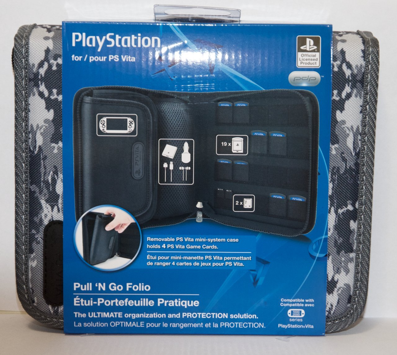 Amazon.com: PDP PSVita Pull N Go Folio: Video Games