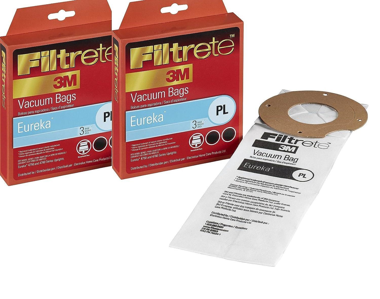 Filtrete Eureka PL Allergen Bags, 6 Pack