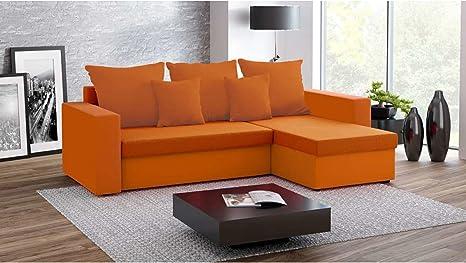 Justhome fresh divano angolare divano letto microfibra lxlxa