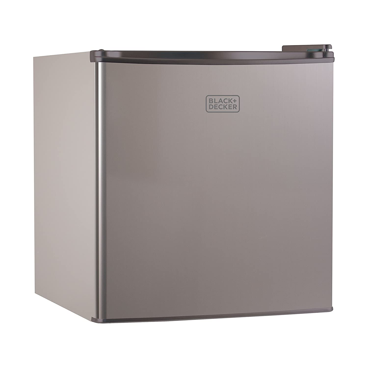 BLACK+DECKER BCRK17V Compact Refrigerator Energy Star Single Door Mini Fridge with Freezer, 1.7 Cubic Ft., VCM