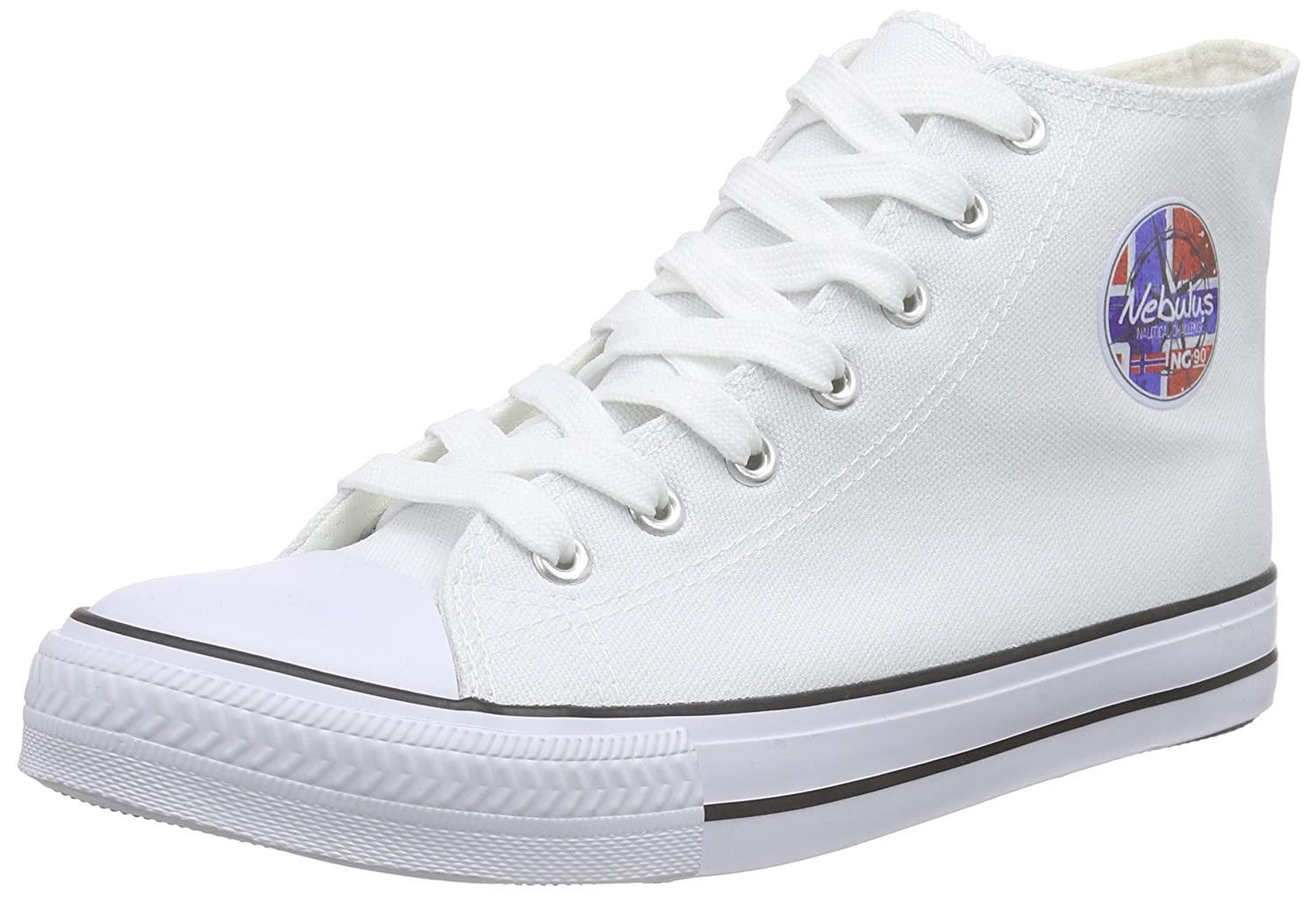 Nebulus Baskets Jersey, Baskets 10495 Basses Femme Femme Wei? (White) ca5be21 - boatplans.space