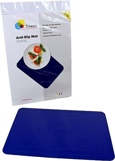 Tenura Red Non Slip Table Mat Small
