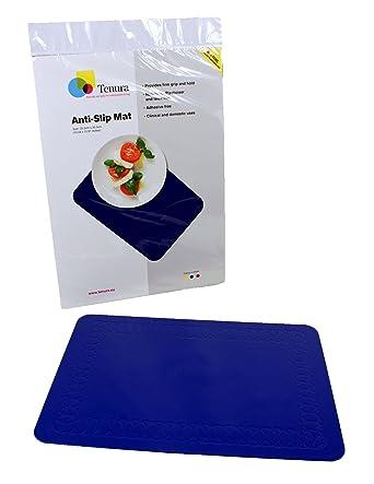 Amazon.com: Tenura 75373-3502 Blue Silicone Non-Slip Table Mat, 13-3 ...