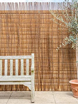 Willow screen fence pack 1.8 x 1.8m