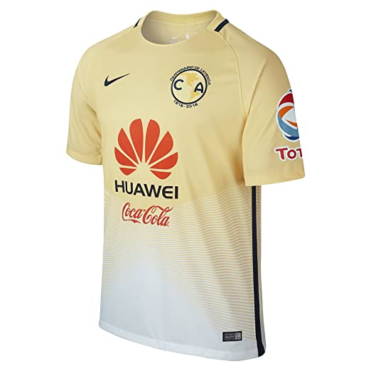 43e4eda8f51 Amazon.com   Nike Mens Club America Stadium Jersey-LEMON CHIFFON (S ...