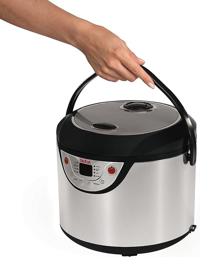 Tefal Multicook 8 en 1 - Robot de cocina programable, función mantener en caliente, cocción rápida, lenta, vapor: Amazon.es: Hogar