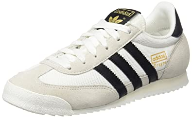 Adidas Dragon, Baskets Basses Mixte Adulte, Blanc (Vintage St Core Black  a493f6740615