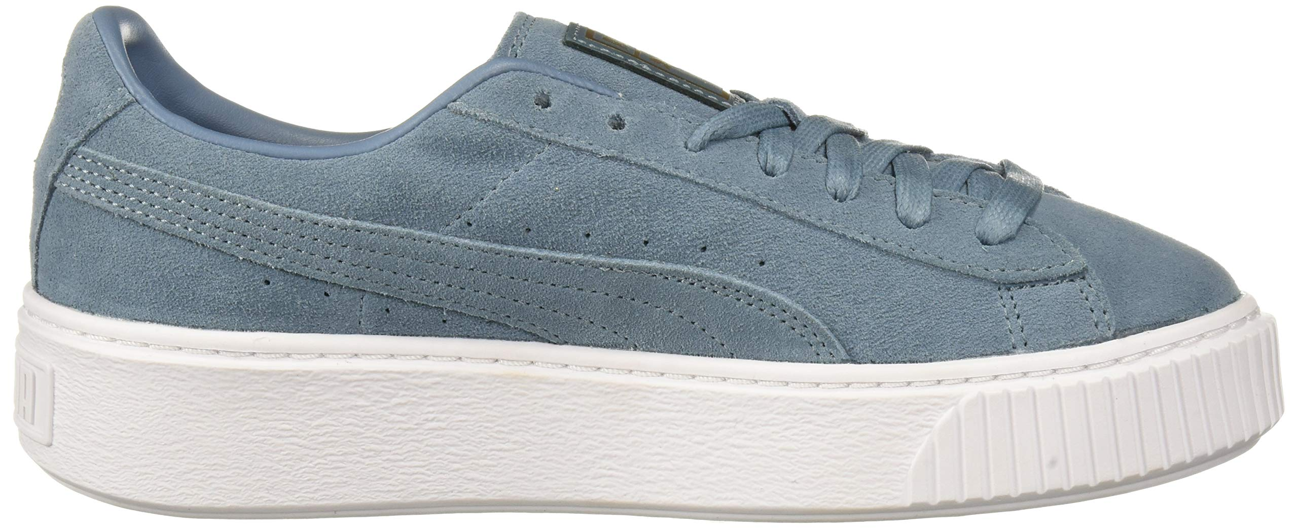 Details about PUMA Women's Suede Platform Sneaker, Bluestone Tea Choose SZcolor