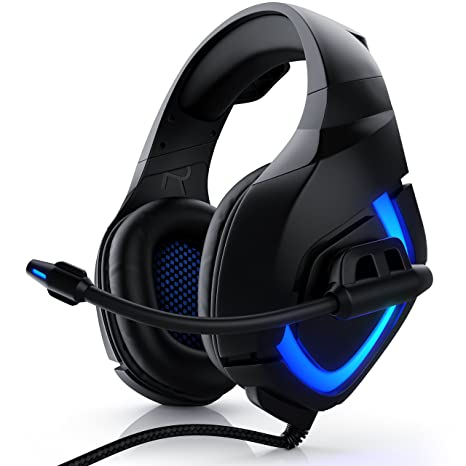 CSL - Auriculares para juegos para PS4 - micrófono auriculares ...