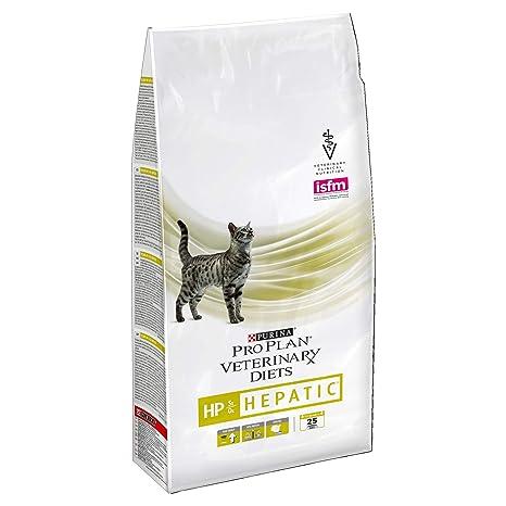 Pro Plan Veterinary Diets Feline HP Hepatic Dry - Comida para Gatos (1,5