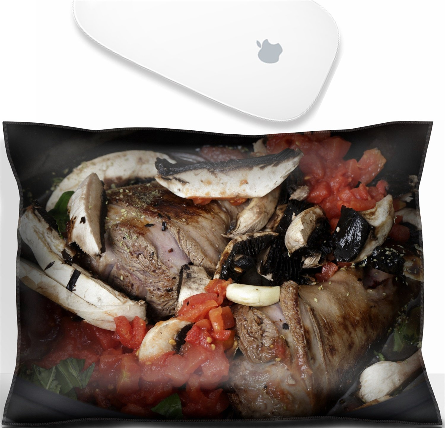 Luxlady Mouse Wrist Rest Office Decor Wrist Supporter Pillow IMAGE: 25865932 Two lamb shanks lightly browned ready for cooking in a slow cooker or crockpot with mushrooms tomatoes basil red wine and s