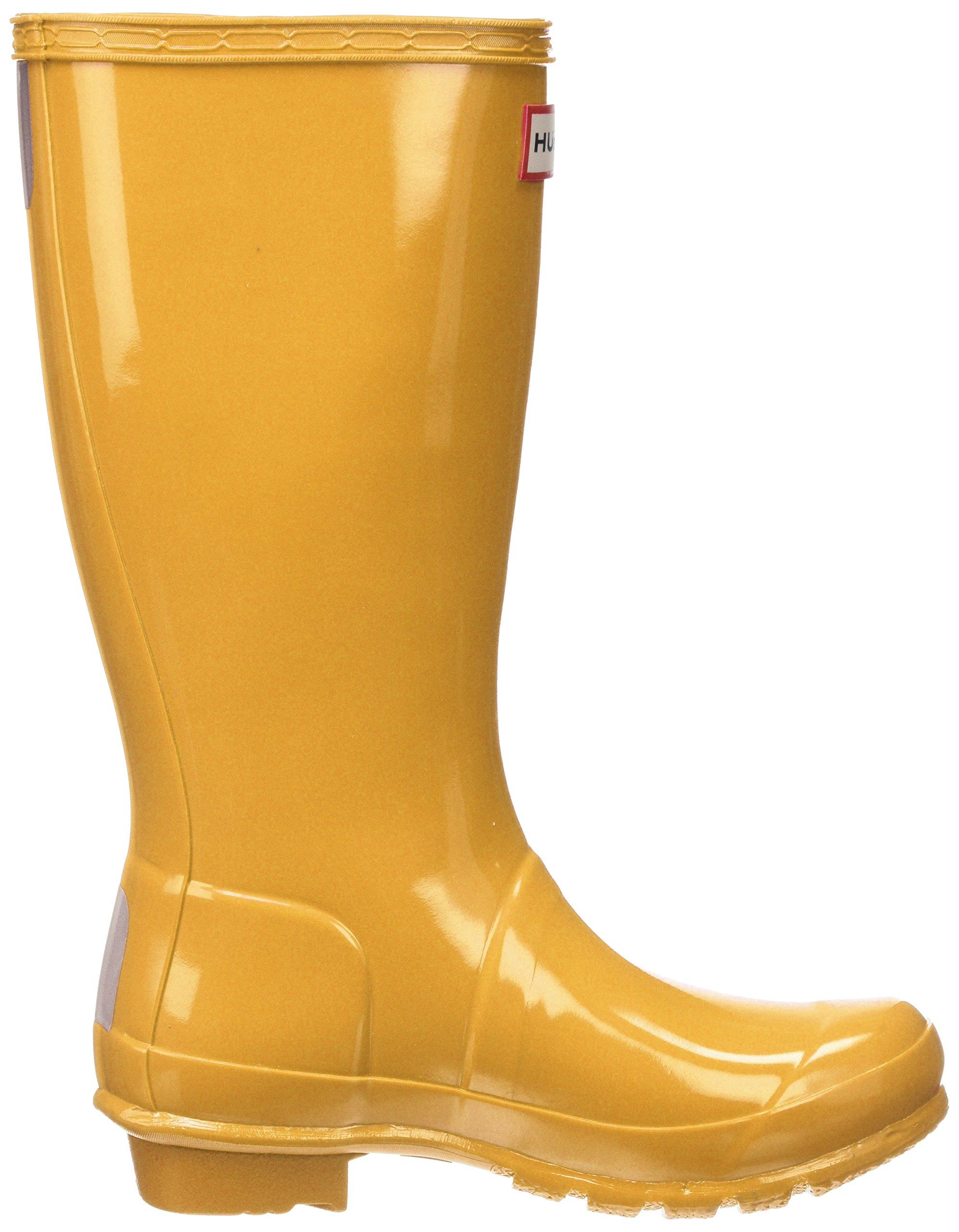 Hunter Kids' Original Gloss Boot, 34, Yellow by Hunter Kids (Image #6)