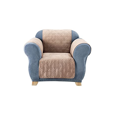 Amazon.com  SureFit Quilted Chair Pet Throw Slipcover 340caa226