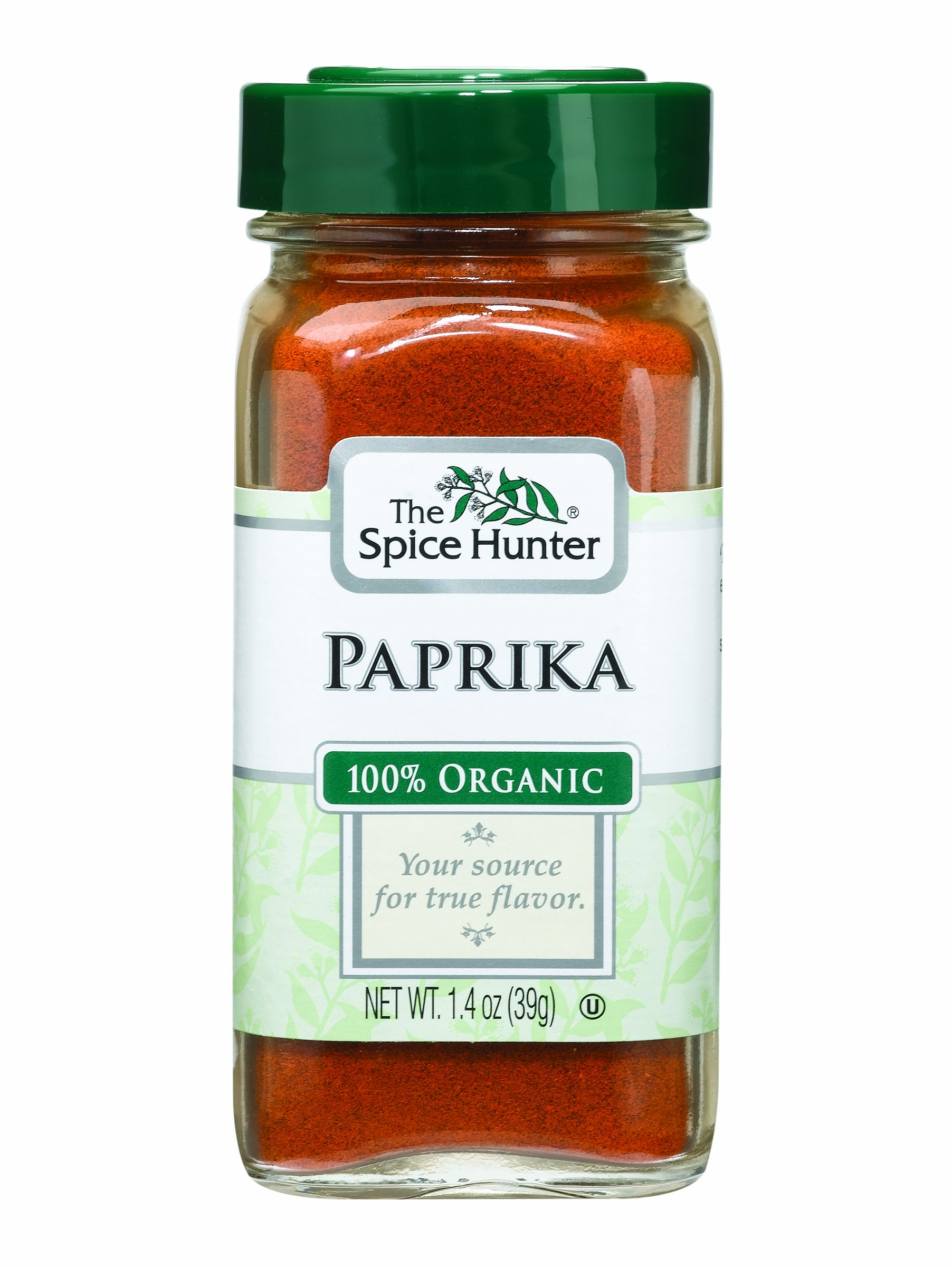 The Spice Hunter Paprika, Ground, Organic, 1.4-Ounce Jars (Pack of 6)