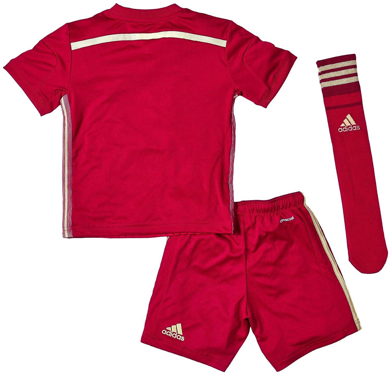 adidas Conjunto Jr Selección Española 2014 Rojo: Amazon.es: Deportes y aire libre